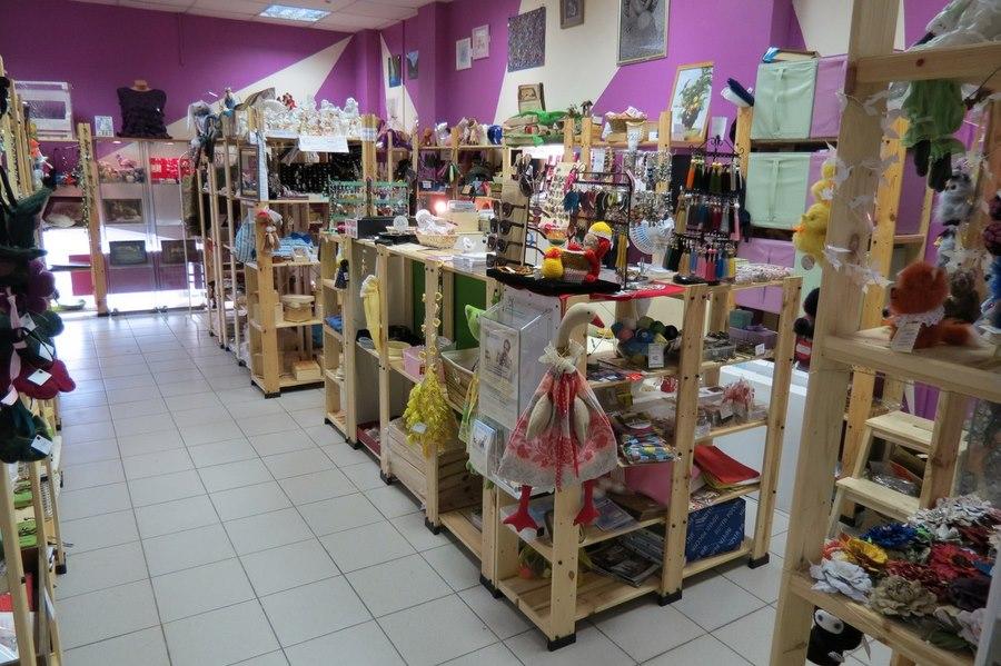 Наш первый магазин «Плюшкин-Вилль»