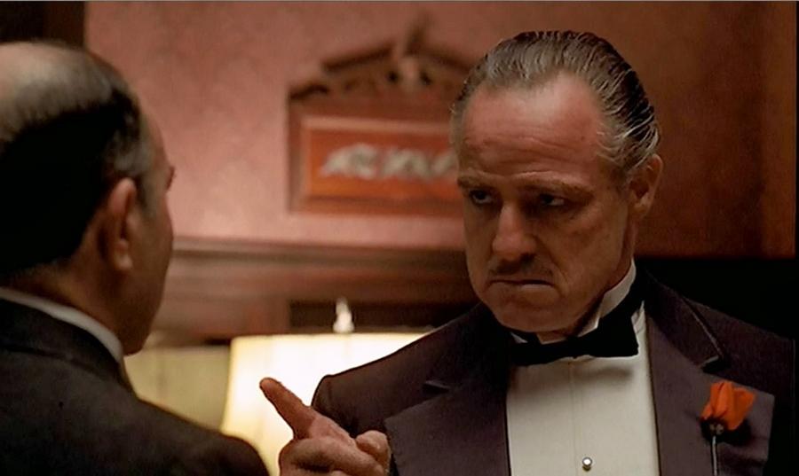 А теперь ты пришел и просишь: «Дон Корлеоне, мне нужна справедливость». Но просишь без уважения. И не предлагаешь дружбы.