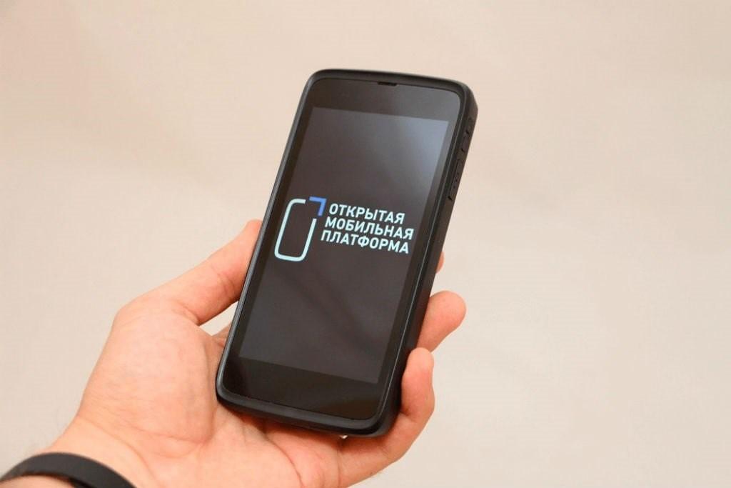 Российский смартфон Ермак ОМП на основе Sailfish Mobile OS RUS